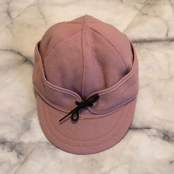 5c314583f1b68 Stormy Kromer Accessories   Pink Wool Cap   Poshmark